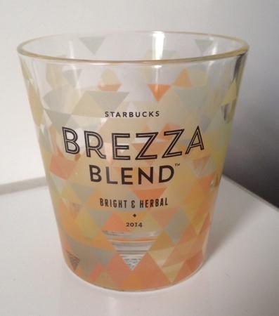 Starbucks City Mug 2014 Brezza Blend Glass
