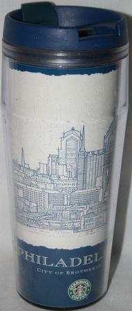 Starbucks City Mug Philadelphia Archi tumbler