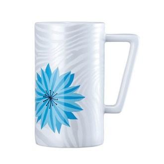Starbucks City Mug 2014 Summer Blue Flower Mug