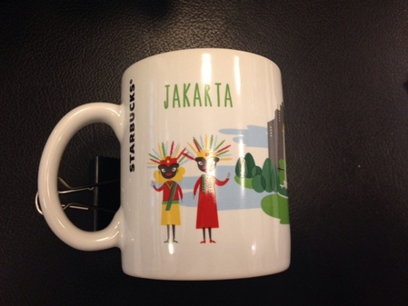 Starbucks City Mug Jakarta 2014