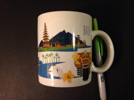 Starbucks City Mug Bali Artsy