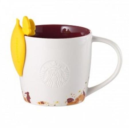Starbucks City Mug 2014 Mid Autumn Festival Logo Mug