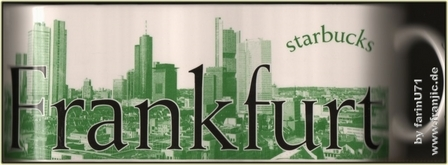 Starbucks City Mug Frankfurt - Made By Rastal