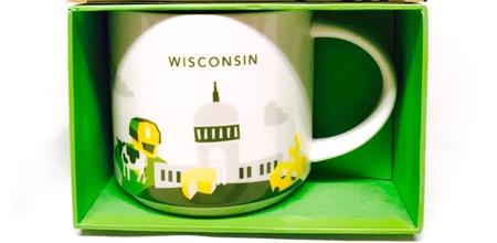 Starbucks City Mug Wisconsin v2 - No Chair YAH