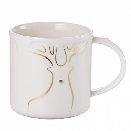 Starbucks City Mug 2014 White Rudolph Mug