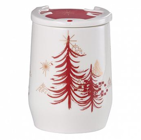 Starbucks City Mug 2014 Peaceful Holiday Canister