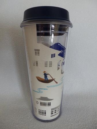 Starbucks City Mug Suzhou Tumbler Blue/White