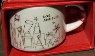 Starbucks City Mug 2014 Los Angeles YAH ornament