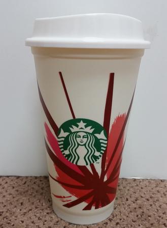 Starbucks City Mug 2014 Holiday $1 Reusable Plastic Cup