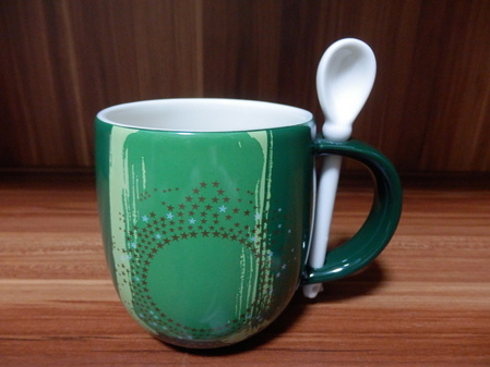 Starbucks City Mug 2014 Mug & Spoon Set 12oz