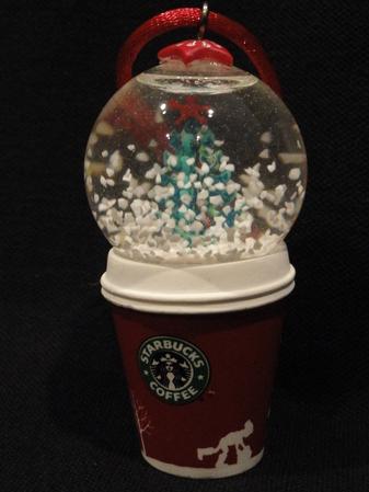 Starbucks City Mug Christmas Ornament - Holiday 2006