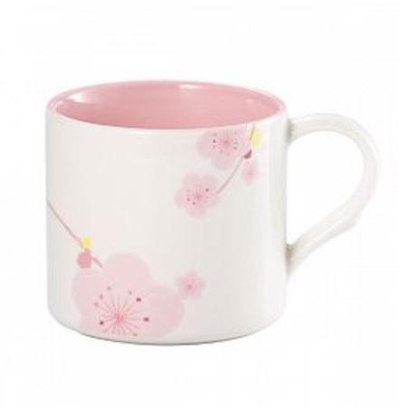 Starbucks City Mug 2015 White Plum Blossom Mug