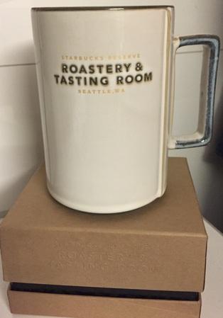 Starbucks City Mug 2014 White Roastery and Tasting Room Mug 16oz