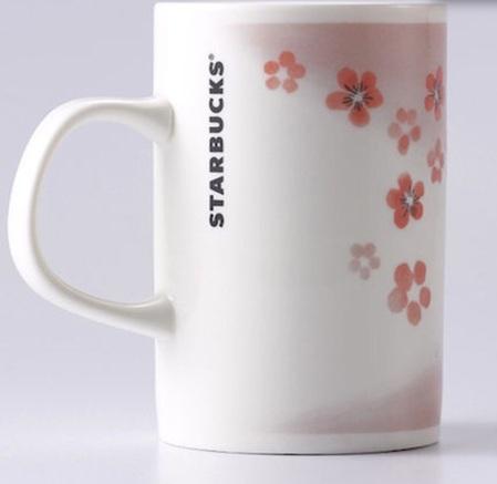 Starbucks City Mug 2015 Pink Plum Blossom Cup