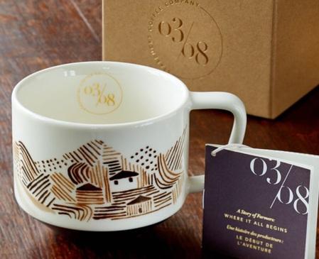 Starbucks City Mug 2015 Coffee Artisan Series Farmers Mug 03/08 12oz