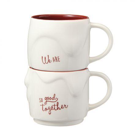 Starbucks City Mug 2015 Stacking mug set melty chocolate