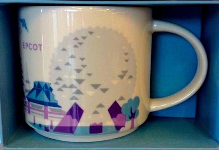 Starbucks City Mug Epcot v.1 YAH