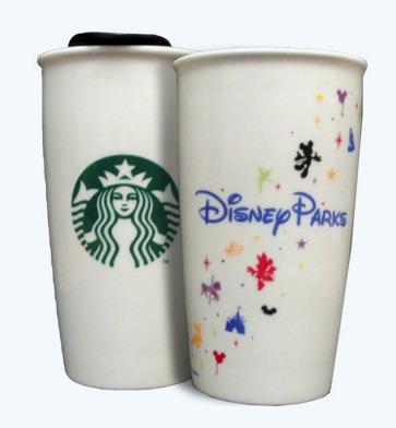 Starbucks City Mug Disney Parks Ceramic Tumbler From Usa