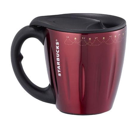 Starbucks City Mug 2014 Christmas Starbucks Stainless Red Mug 12oz