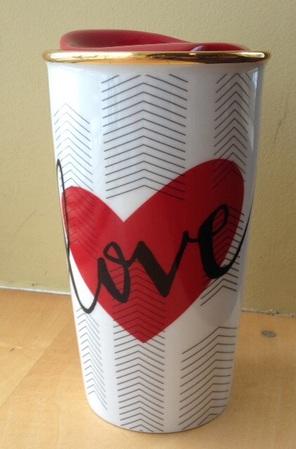 Starbucks City Mug 2015 Double Wall Ceramic Valentine Mug