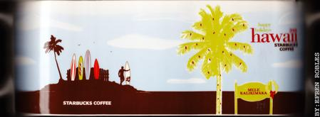 Starbucks City Mug Hawaii - Happy Holidays 2008