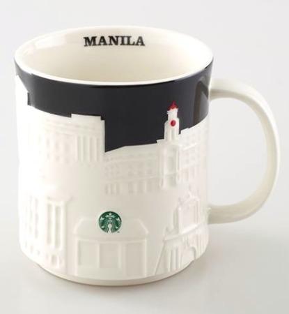 Starbucks City Mug Manila Relief Mug