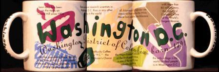 Starbucks City Mug Washington D.C. State of Beans
