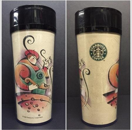 Starbucks City Mug 1996 Made in USA tumbler