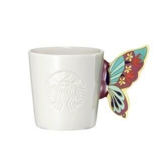 Starbucks City Mug 2015 Butterfly Handle Demimug