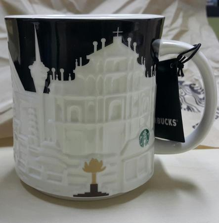 Starbucks City Mug Macau Relief Mug