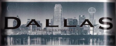 Starbucks City Mug Dallas - Big D 18 oz Mug