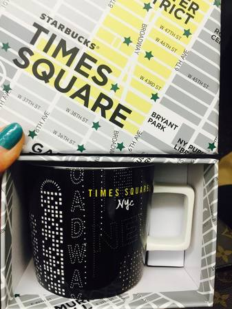 Starbucks City Mug New York Times Square Mug