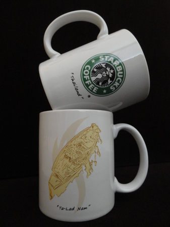 Starbucks City Mug Thailand Ta-Lad Nam