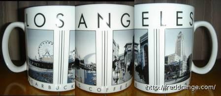 Starbucks City Mug Los Angeles