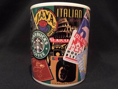 Starbucks City Mug World Coffee Blends, 1996