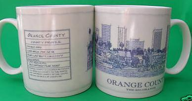 Starbucks City Mug Orange County
