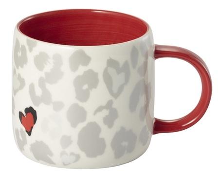 Starbucks City Mug 2015 Chinese Valentine\'s Day White Mug 12 oz