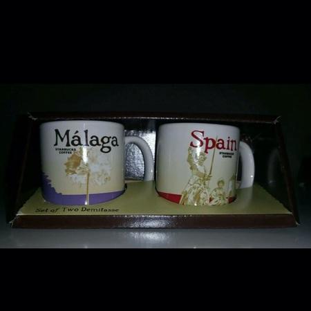 Starbucks City Mug Demitasse Málaga Biznaga