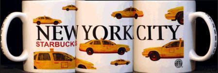 Starbucks City Mug New York City