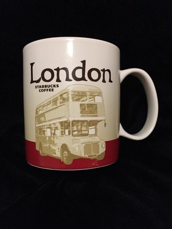 Starbucks City Mug London II - Double Decker Bus