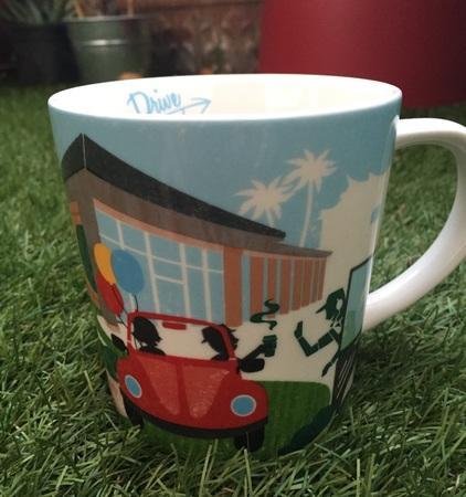 Starbucks City Mug 2015 Taiwan Drive Thru Mug