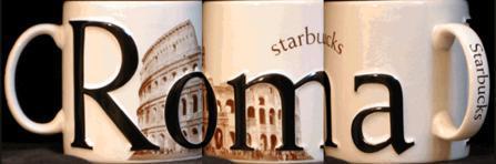Starbucks City Mug Roma 2002