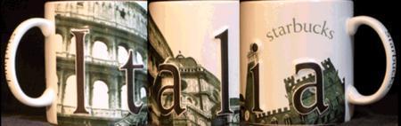 Starbucks City Mug Italia 2003