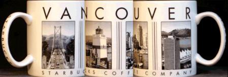Starbucks City Mug Vancouver