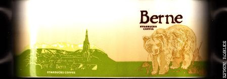 Starbucks City Mug Berne - Brown Bear