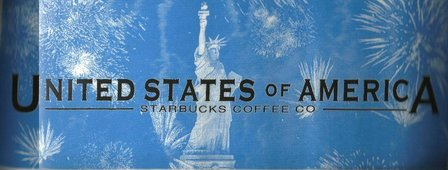 Starbucks City Mug Statue of Liberty (USA/Patriotic Series) - 18 oz Mug