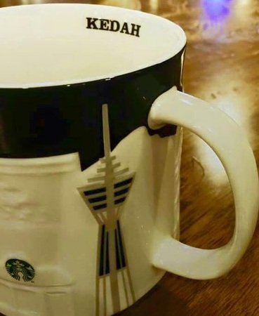 Starbucks City Mug Kedah Relief Mug