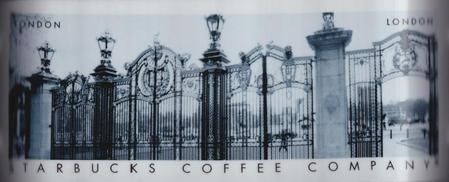 Starbucks City Mug London Castle Gates