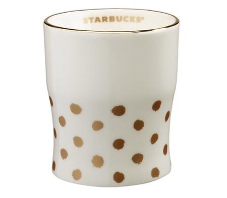 Starbucks City Mug 2015 Gold Dot Cup 8 oz