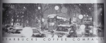 Starbucks City Mug London Snow